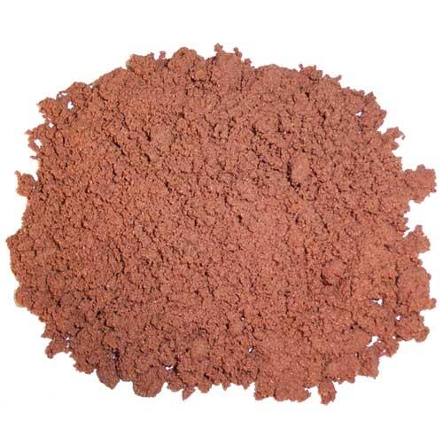 Substrat litière Terrano Sable du désert, rouge, Ø 1-3 mm, 5 kg