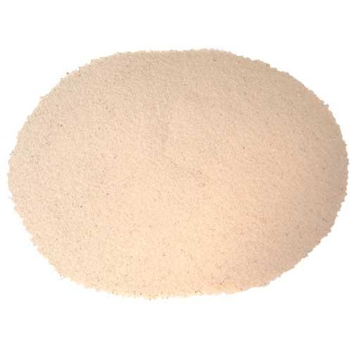 Substrat litière Terrano Sable du désert, blanc, Ø 0-1 mm