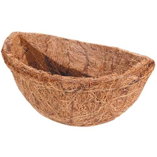 Cachette Corbeille en fibre de coco 1, rond, 11x6 cm