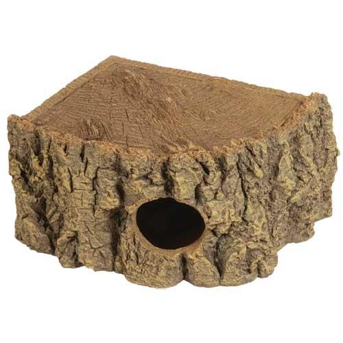 Cachette Grotte d'angle Bark, 22x22x12 cm