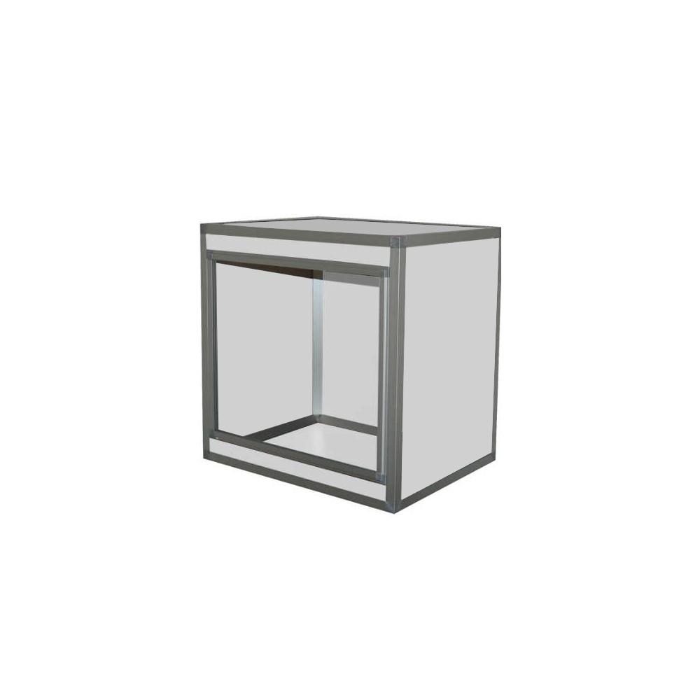 Terrarium PVC / composite Alu 3mm