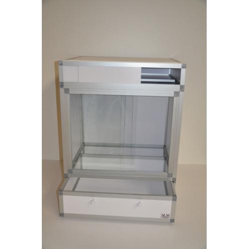 Terrarium kit PVC hpterra 60 cm x 60 cm x  90 cm